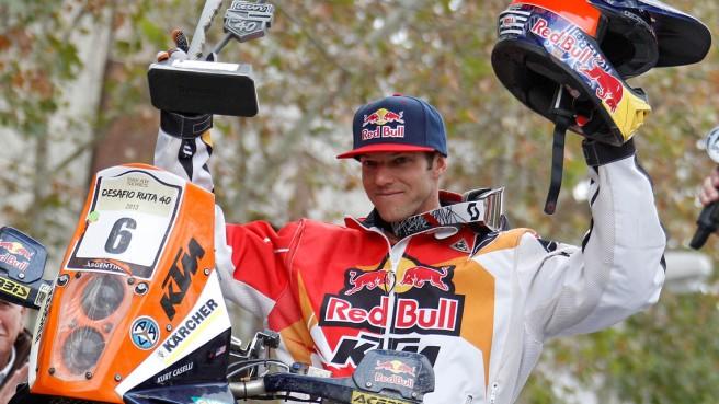 Kurt Caselli, fallecido tras sufrir una grave caída en la Score 1000 Baja