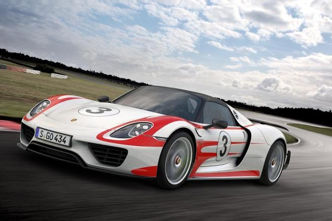 El Porsche 918 Spyder, rompiendo todos los récords
