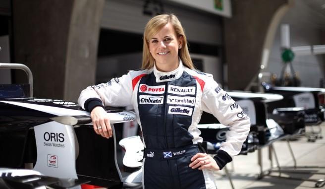 Susie Wolff participará en la próxima Race of Champions