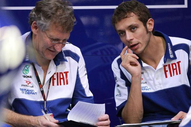 Valentino Rossi y Jeremy Burgess rompen tras 14 años de trabajo conjunto