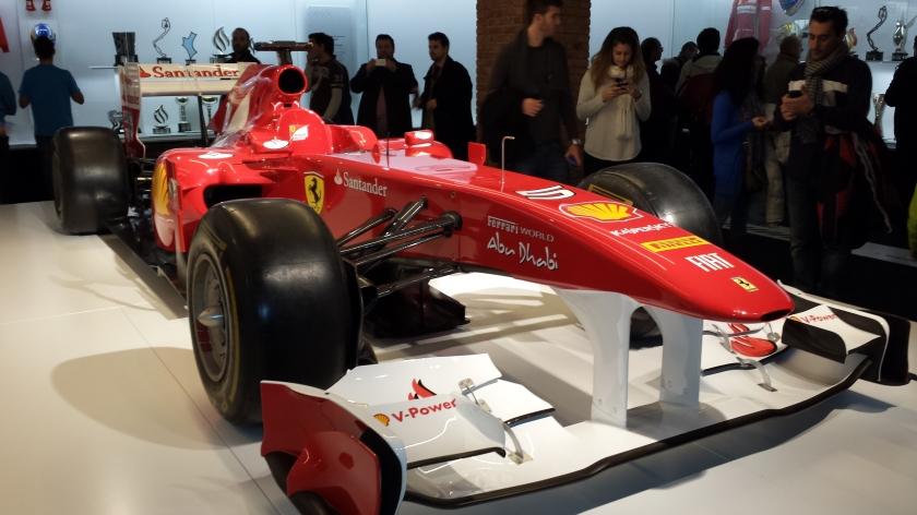 Ferrari F150th Italia de 2011