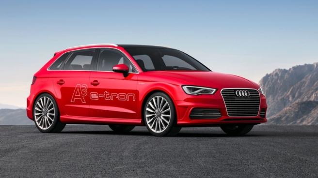 Audi A3- Sportback E-tron, futuro lanzamiento de la marca alemana