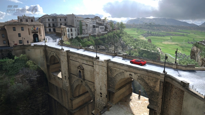 La ciudad de Ronda recreada al detalle en el Gran Turismo 6