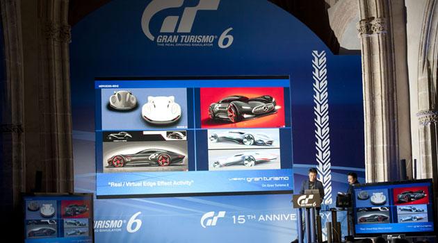 Kazunori Yamauchi durante la presentación del nuevo Gran Turismo 6 en Ronda