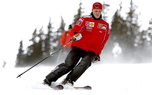 Michael Schumacher, herido muy grave tras un accidente de esquí en Francia