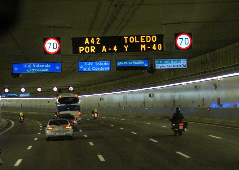 El Ayuntamiento de Madrid instalará un nuevo radar en la M-30