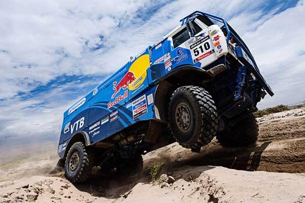 Apretado triunfo del ruso Andrey Karginov en Camiones
