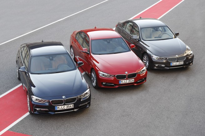 La Serie 3 de BMW, clave en el éxito de la marca bávara en 2013