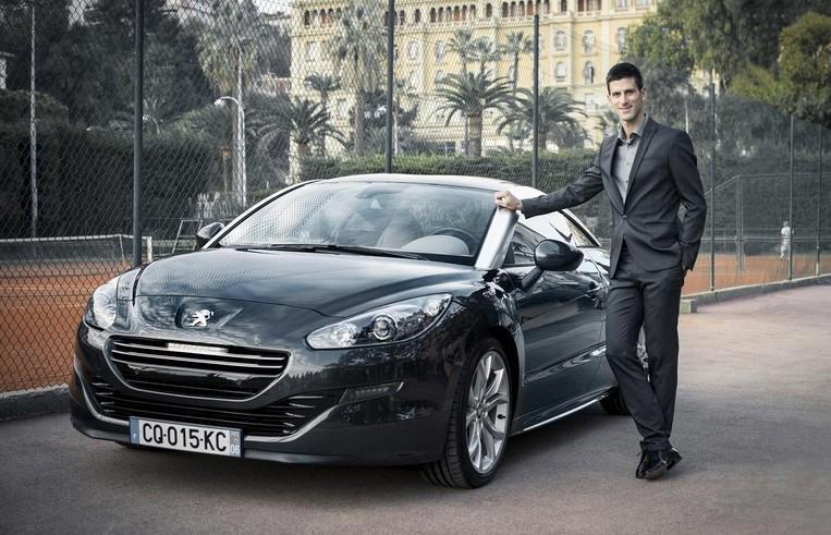 Novak Djokovic, nuevo embajador mundial de Peugeot