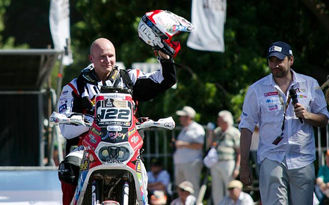El belga Eric Palante, la última víctima del Dakar