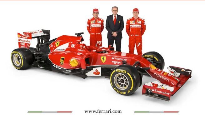 Presentado el equipo Ferrari para 2014