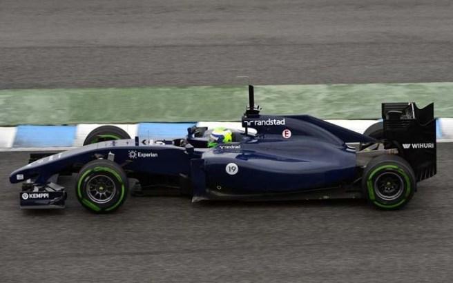 Felipe Massa ha pulverizado todos los registros de hoy en Jerez