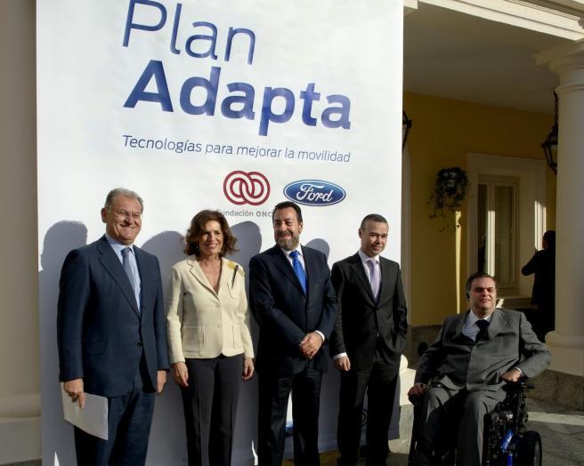 Firma del convenio del Plan Adapta en Madrid