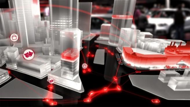 Iniciativa Audi  Urban Future, el tráfico de mañana, hoy