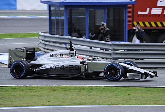 Jenson Button voló hoy sobre Jerez