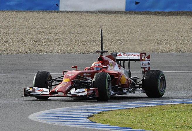 Kimi Raikkönen, de nuevo en lo más alto con su Ferrari F14 T