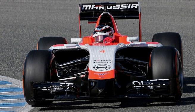 El nuevo Marussia MR03 debuta en Jerez