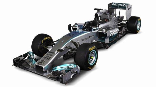 Espectacular el diseño del nuevo Mercedes AMG W05