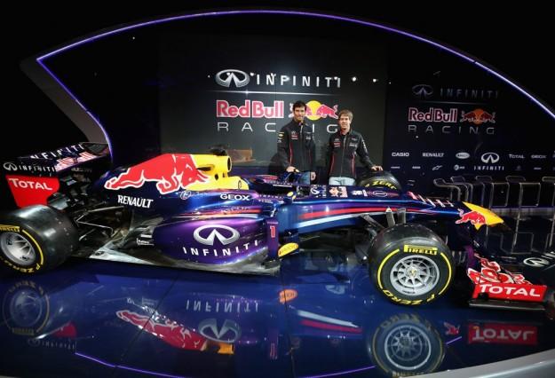 Imagen de la presentación del Redl Bull RB9 del pasado año
