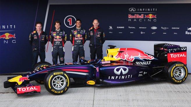 Red Bull ha presentado el nuevo RB10 en Jerez