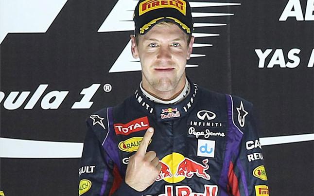 Sebastian Vettel partirá con el número 1 esta temporada