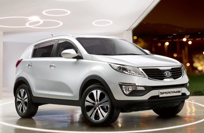 El Kia Sportage, el modelo más vendido de la marca coreana en España en 2013