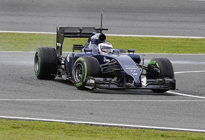 Valteri Bottas, sorprendente con su Williams FW36
