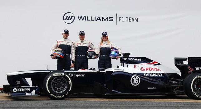 Presentación del Williams FW35 de 2013 en Montmeló