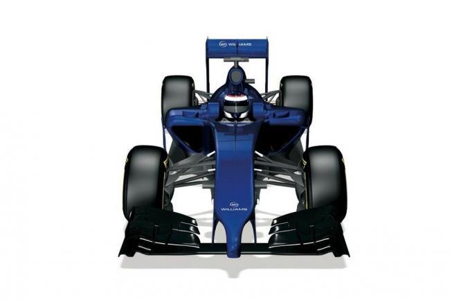 Detalle del peculiar morro del nuevo Williams FW36