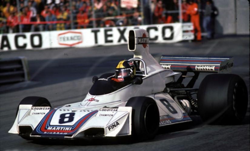 Brabham BT44b de 1975 con los colores de Martini Racing