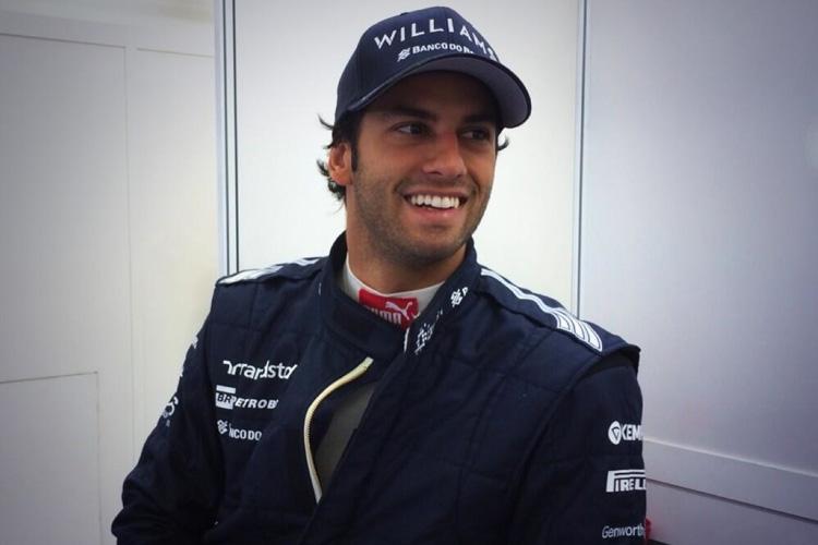 Felipe Nasr será el nuevo tercer piloto de Williams para 2014