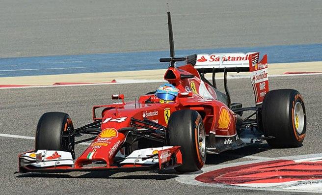 Fernando Alonso rayó a gran altura en Bahrein