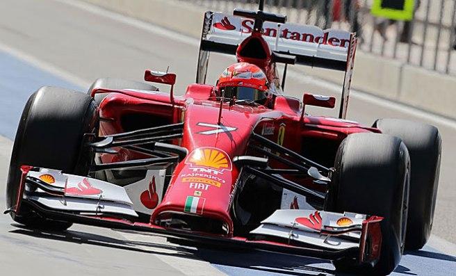 Gris debut de Kimi Raikkönen en Bahrein a bordo del Ferrari
