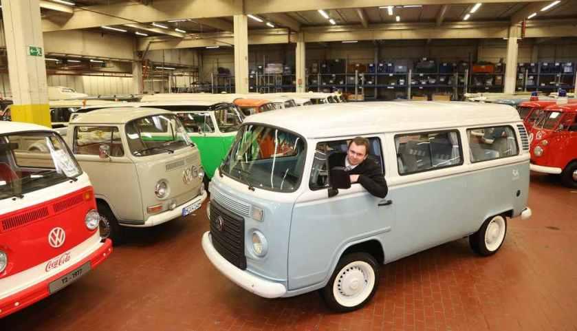 El último VW Kombi ya está en el Centro de Exposiciones Oldtimer de Hannover