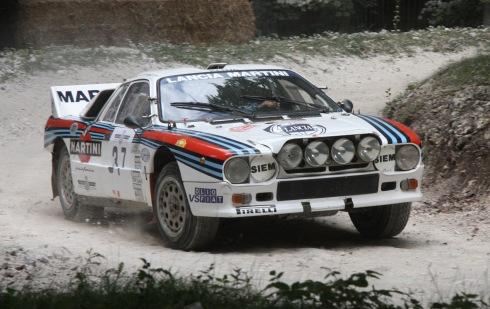 Lancia 037 de rallyes, otro coche mítico de Martini