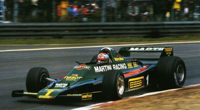 Martini Lotus 90 de Mario Andretti del año 1979