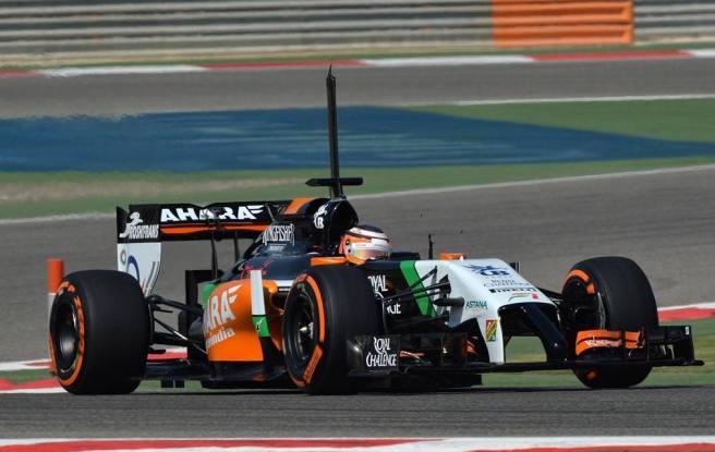 Nico Hulkenberg y Force India, los más rápidos hoy en Bahrein