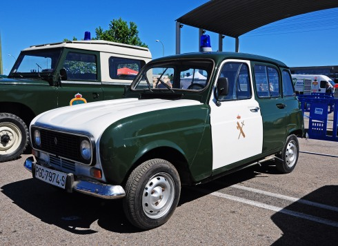 El Renault R4 se convirtió en un clásico para la Guardia Civil