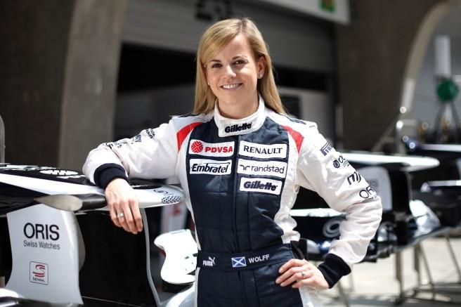 Susie Wolff seguirá un año más como piloto de desarrollo de Williams