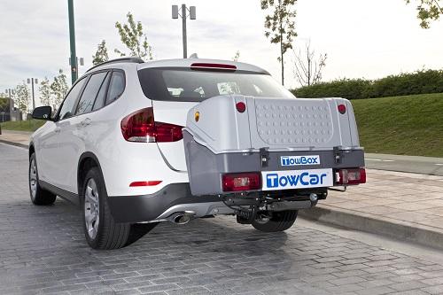 Portaequipajes sin rueda TowBox, un concepto diferente de remolque