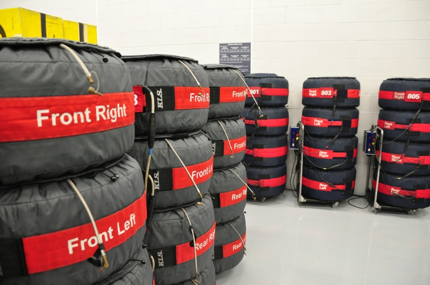 Se prohibirá el uso de calentadores de ruedas para la F1 desde 2015