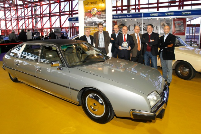 "El Citroën CX, elegido ""Golden Car of the Year"" por la revista Autopista"