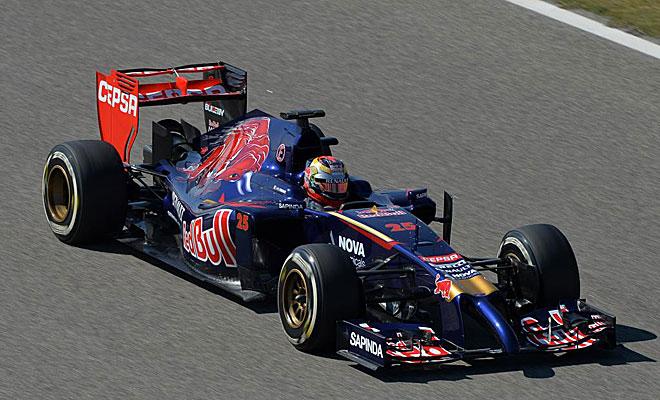 Jean-Eric Vergne y su Toro Rosso han mejorado mucho