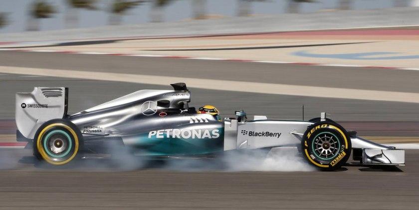 Lewis Hamilton cierra con éxito la pretemporada para Mercedes