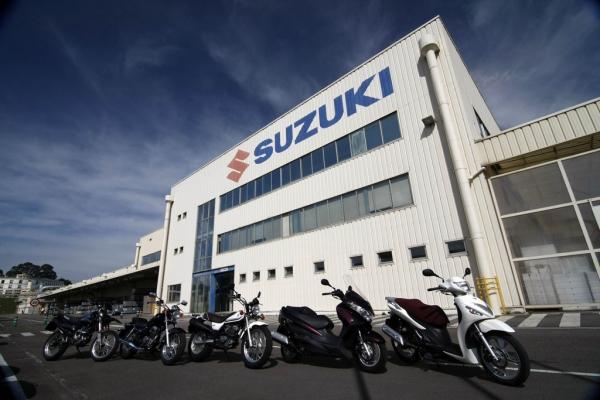 Fábrica de Suzuki Motor España en Porceyo (Gijón)