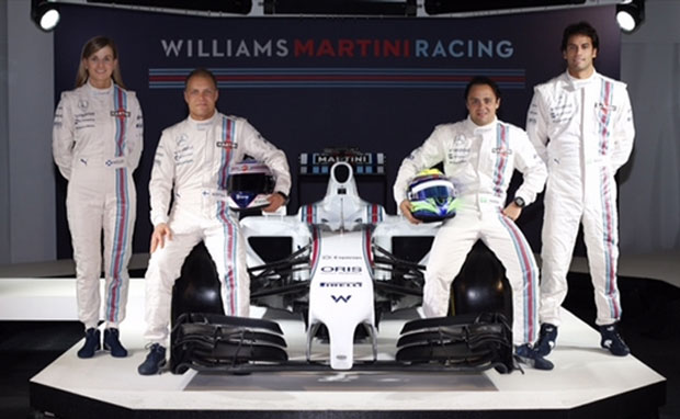 Williams devuelve a Martini Racing a la Fórmula 1