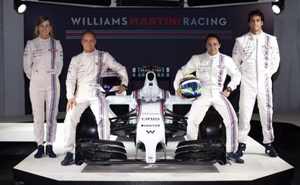 Williams devuelve a Martini Racing a la Fórmula 1