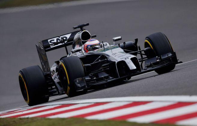 Decepcionante actuación de los McLaren en China