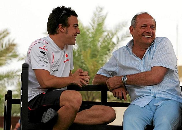 La foto del Twitter de McLaren que ha desatado los rumores
