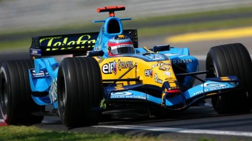 Fernando Alonso ya estuvo vinculado a Movistar en sus años de RenaultFernando Alonso ya estuvo vinculado a Movistar en sus años de Renault